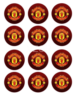 Manchester United FC - cupcakes