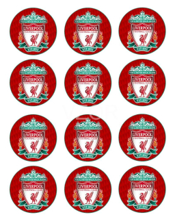 Liverpool FC - cupcakes