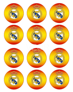 FC Real Madrid - cupcakes