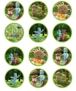 In the Night Garden - cupcakes